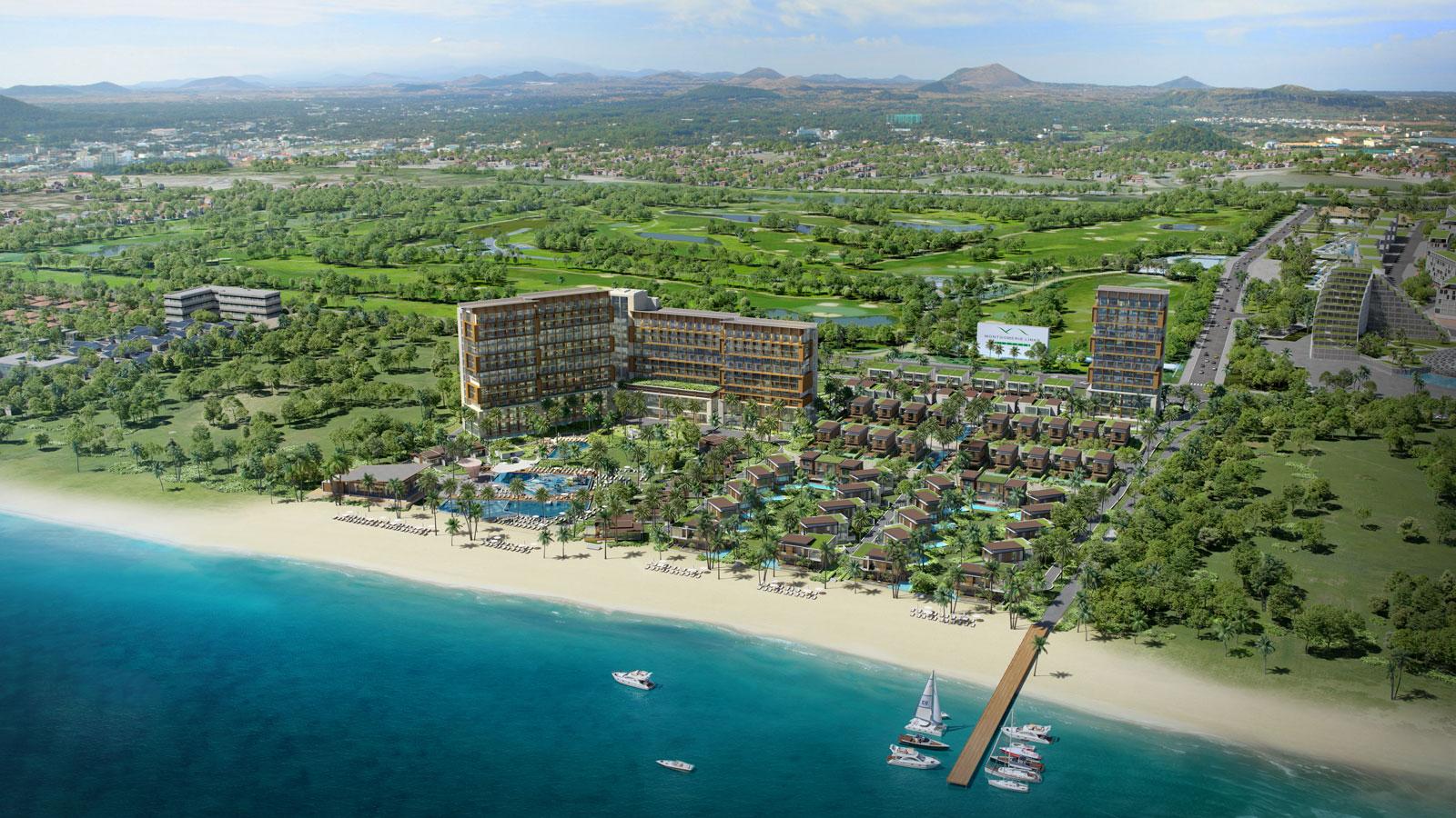 Le meridien Resort & SPa da nang perspective